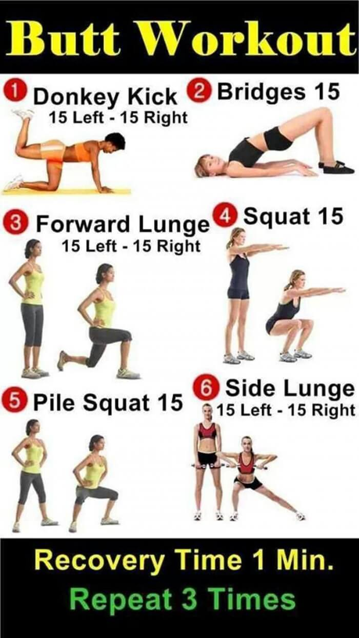 Home Butt Exercises 14
