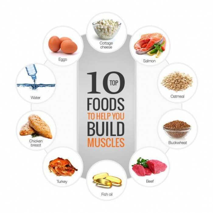 Top 10 Foods To Help You Build Muscle - Healthy Fitness