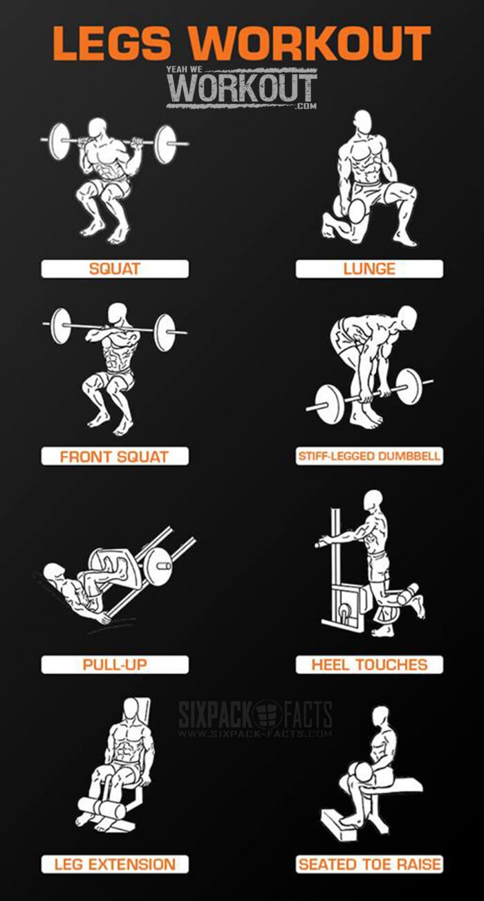 how to get bigger legs at home