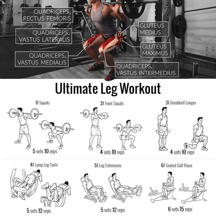 Ultimate Leg Workout For Stronger Legs Try This Exercises Now