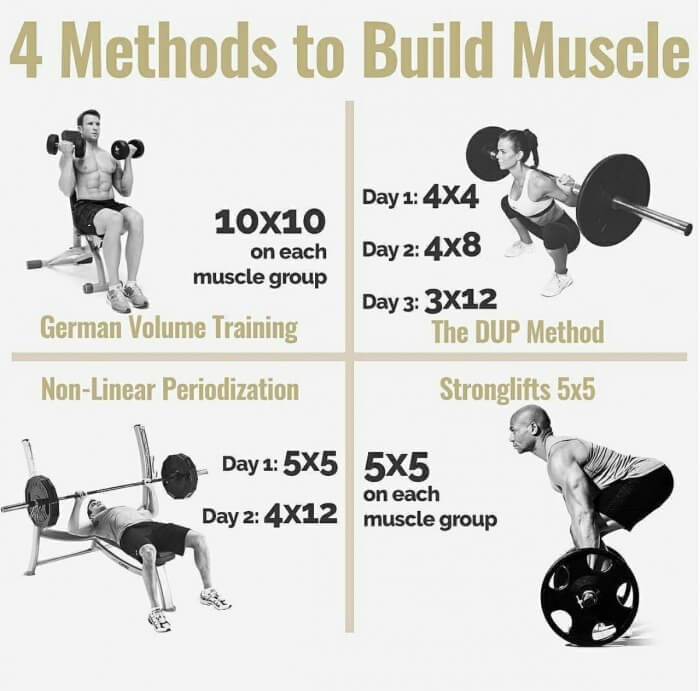 4 Methods To Build Muscle! Must Read This Amazing Tipa